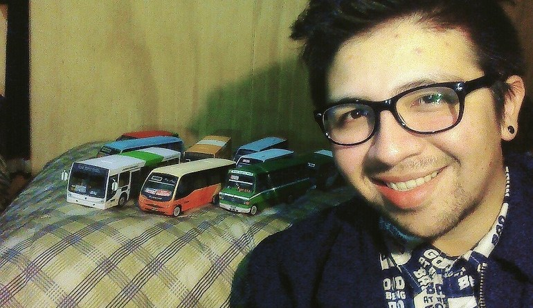 Eduardo Rodríguez Maquetas de Buses Chile, Temuco