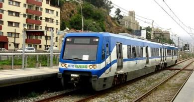 EV: Viaje en Metro Valparaíso (Merval), Chile
