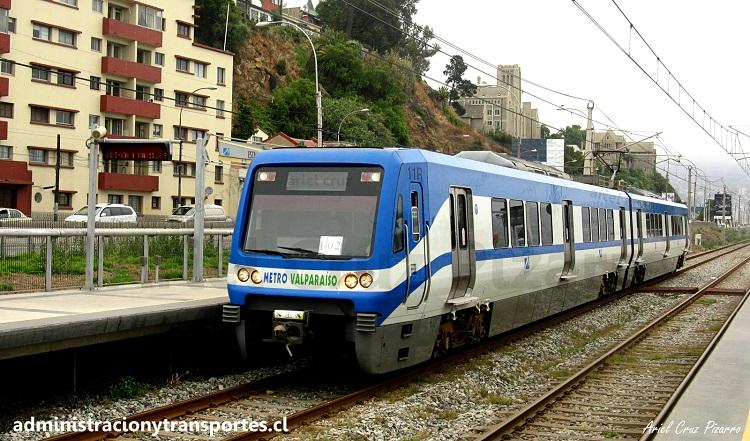 Merval Tren Valparaiso Chile, Alstom Xtrapolis