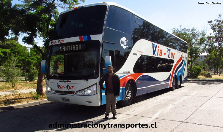 Bus 82 Via Tur y Ariel Cruz, administracionytransportes.cl