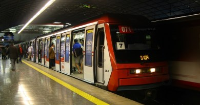 Tren N2071 en Pedro de Valdivia, Línea 1