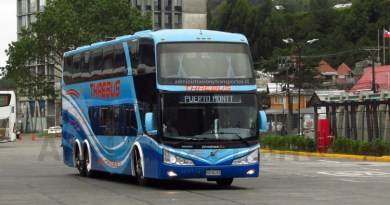 EV: Viaje en Thaebus (Salón Cama) desde Temuco a Puerto Montt