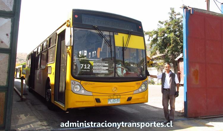 Víctor Beiza: gran conductor amable de Transantiago