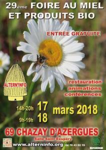 Foire-miel2018- affiche