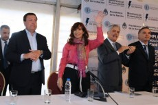 Weretilneck-Cristina Fernandez en Pilcanuyeu