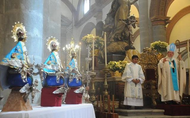 Celebrarán dos años de la coronación de la virgen de Juquila (17:11 h)