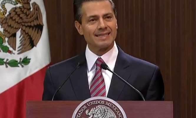 Constitución, pilar de nuestras instituciones: Peña Nieto (18:55 h)
