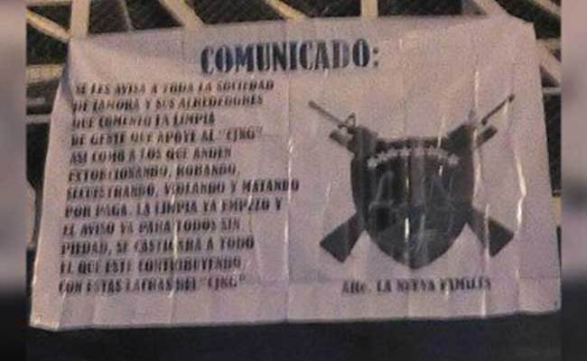 """Surge """"La Nueva Familia"""" en Michoacán y declara guerra al CJNG (19:45 h)"""