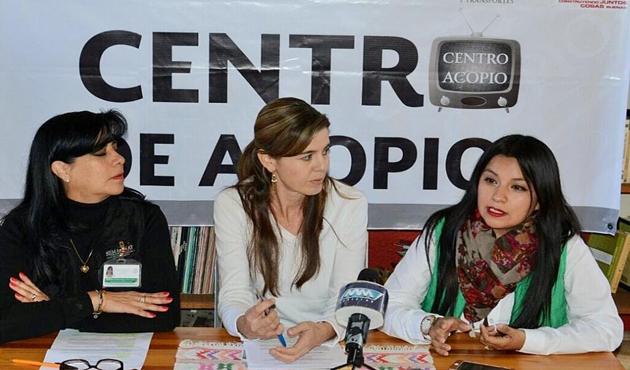 Inicia campaña de acopio de televisiones análogas en Oaxaca (11:05 h)