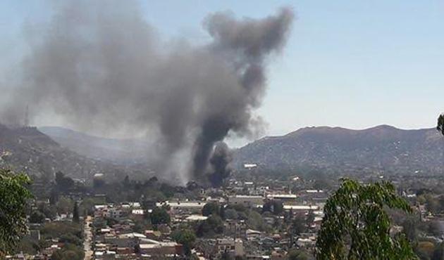 Reportan incendio en Santa Rosa Panzacola (15:00 h)