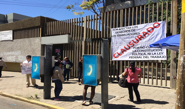 STAUO exige a JLCA que entregue cuotas sindicales (14:10 h)