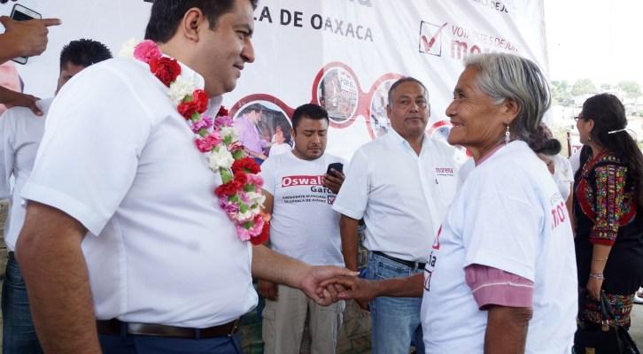 Haremos tres veces más obra pública con aplicación honesta de recursos: Oswaldo García (17:30 h)