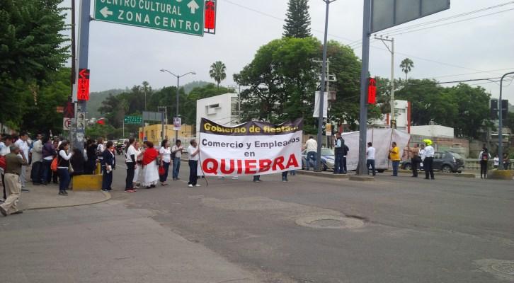 Comerciantes del Centro Histórico exigen solución al conflicto magisterial que genera pérdidas millonarias (09:30 h)