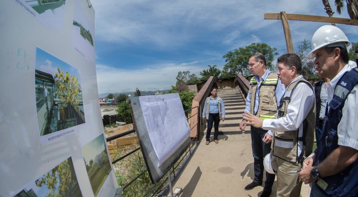 Avanza en 85% construcción de la Ciudad de Los Archivos: Gabino Cué (17:00 h)