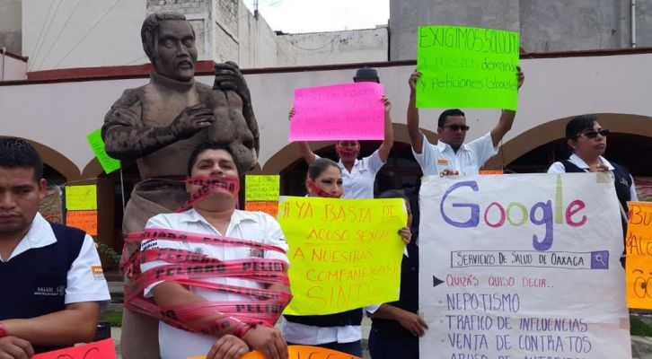 Sindicalizados no permitirán más abusos del Secretario de Salud (12:10 h)