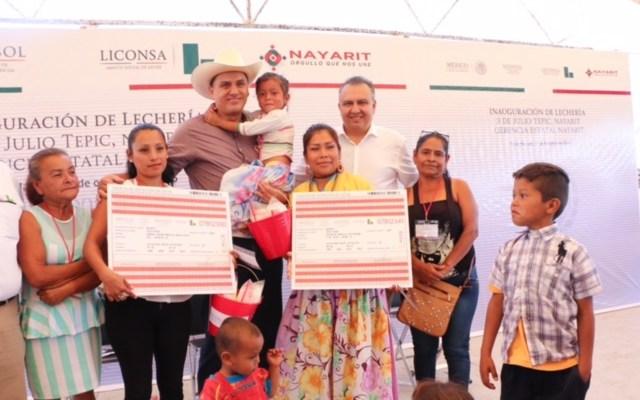 EPN autoriza 40 lecherías Liconsa más para Nayarit (11:30 h)