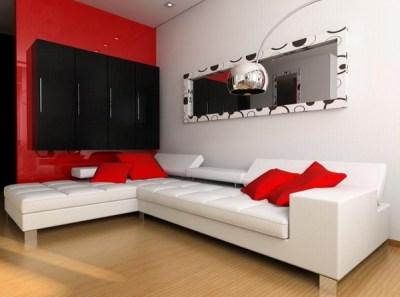 Red Living Room Design Ideas – Adorable Home