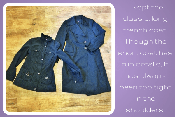 Spring Cleaning Closet Coats