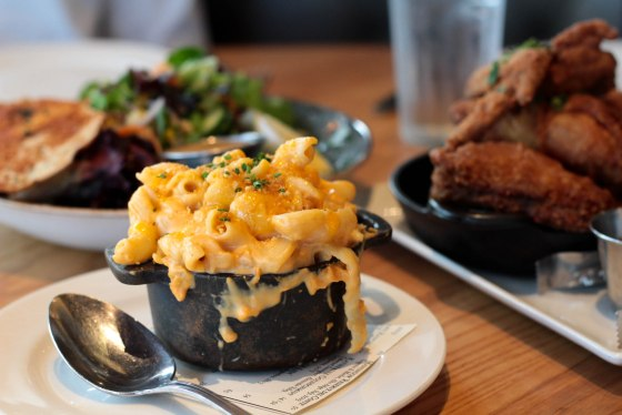 Macaroni & Cheese from Yardbird Southern Table & Bar | Adorned With Love