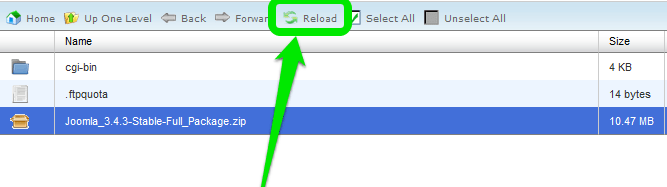 Joomla - file manager 10