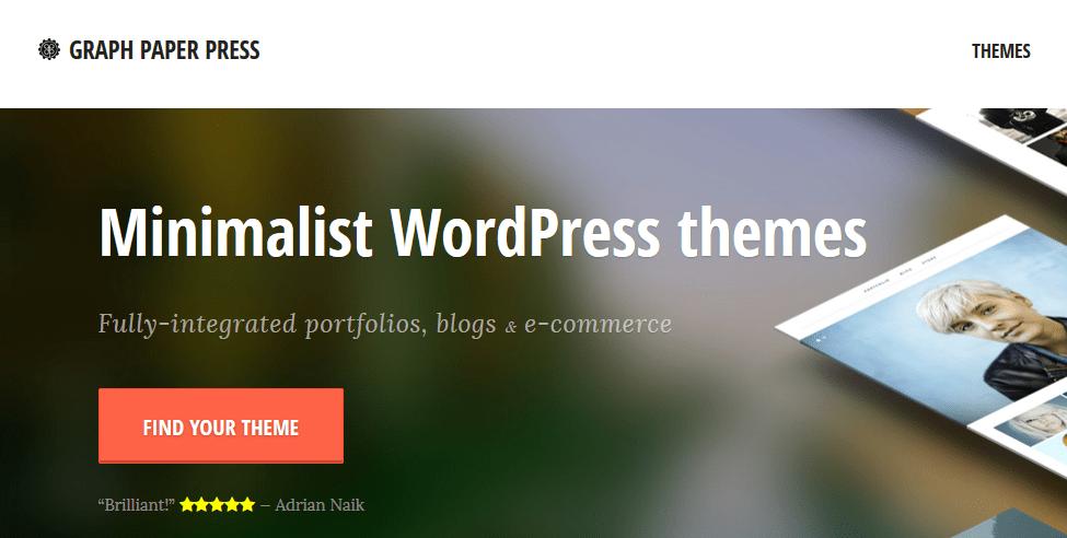 Gde kupiti premium temu za WordPress - Graph Paper Press