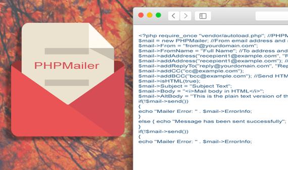 PHPMailer za slanje mailova