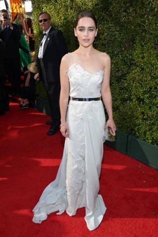 Donna Karan Atelier, branco, Emmy 2013