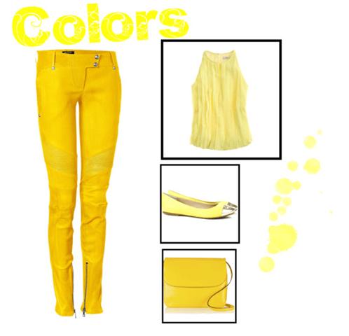 amarelo, yellow, como usar