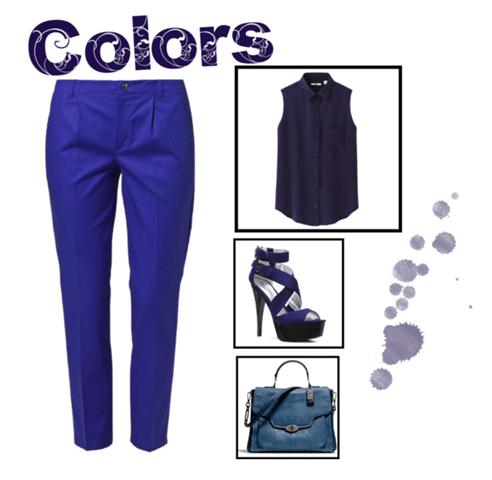 azul, blue, como usar