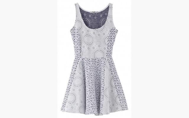 vestido de laise