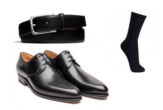 sapatos e meias