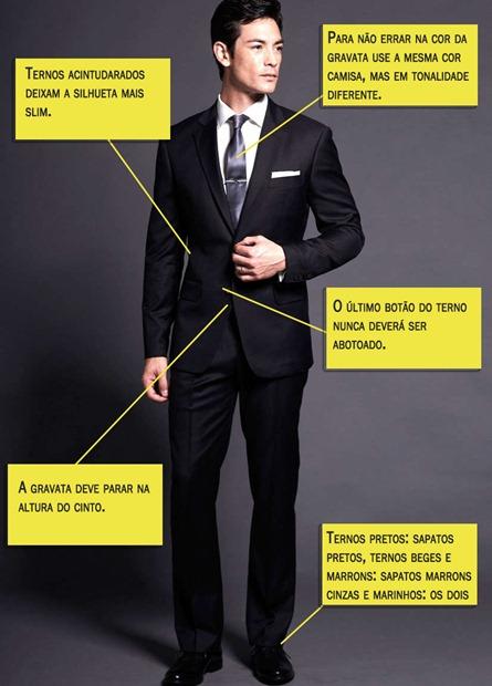 roupa de trabalho masculina, terno