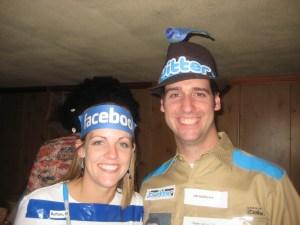 Facebook Halloween Costume- Twitter Halloween Costume