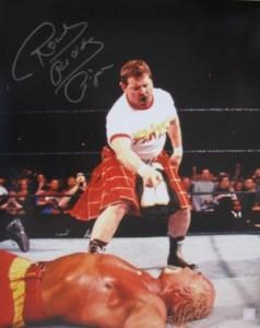 Rowdy Roddy Piper defeating one of my childhood heros, Hulk Hogan