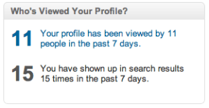 Who's Viewed Your Profile on LinkedIn