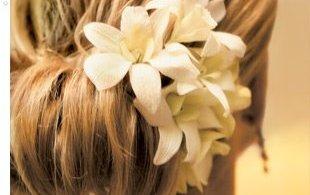 flores para cabelo