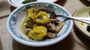Wild mushroom and pasta