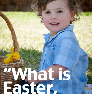 Do you struggle with how to explain the mystery of Easter to your littles? Me too.