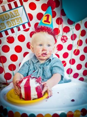 Judah's First Birthday Circus Party-22
