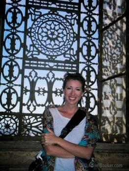 Adriel Booker Cairo Egypt 2006