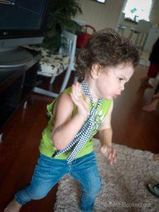 Rockstar Kids Birthday Party - dancing it up