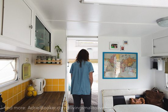 Tiny house, big love- life in our renovated vintage caravan — Adriel Booker-2