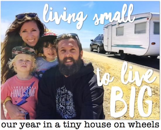 Living small to live big—our tiny house on wheels