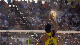 2015 Beach Volleyball World Tour: Olsztyn: Men's Top Scores