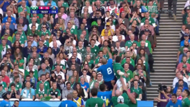 2015 IRB Rugby World Cup: Ireland vs Italy