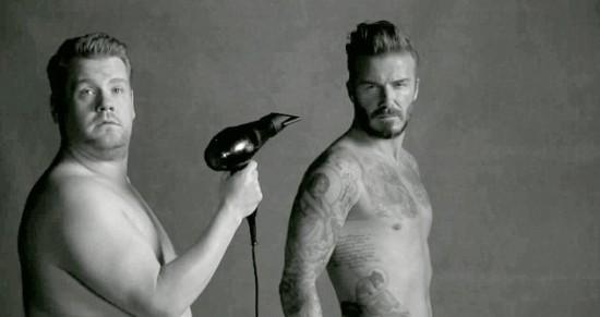 James Corden Advert Beckham