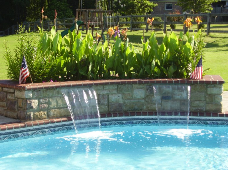 Large Of Pool Water Features