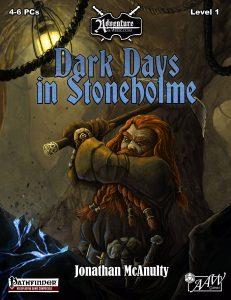 Dark Days in Stoneholme COVER