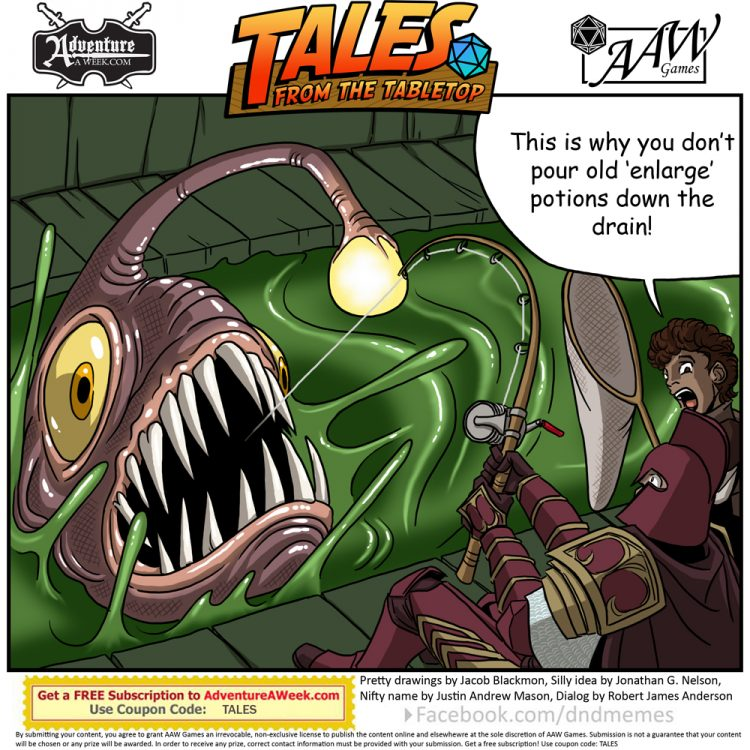 Caption for Tales from the Tabletop #55.