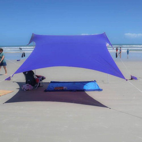 Medium Of Beach Sun Shade